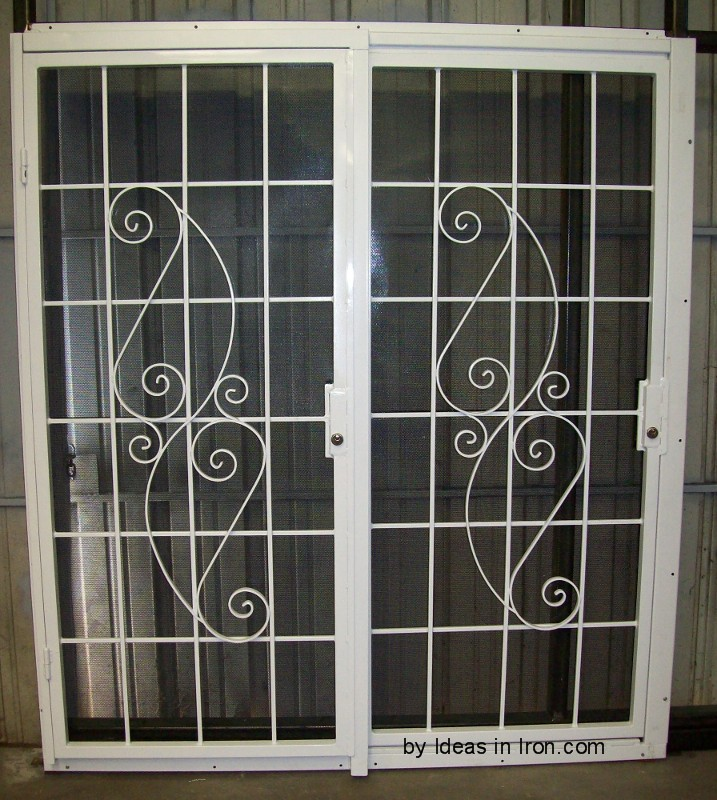 Security Screen Doors Metal Security Metal Sliding
