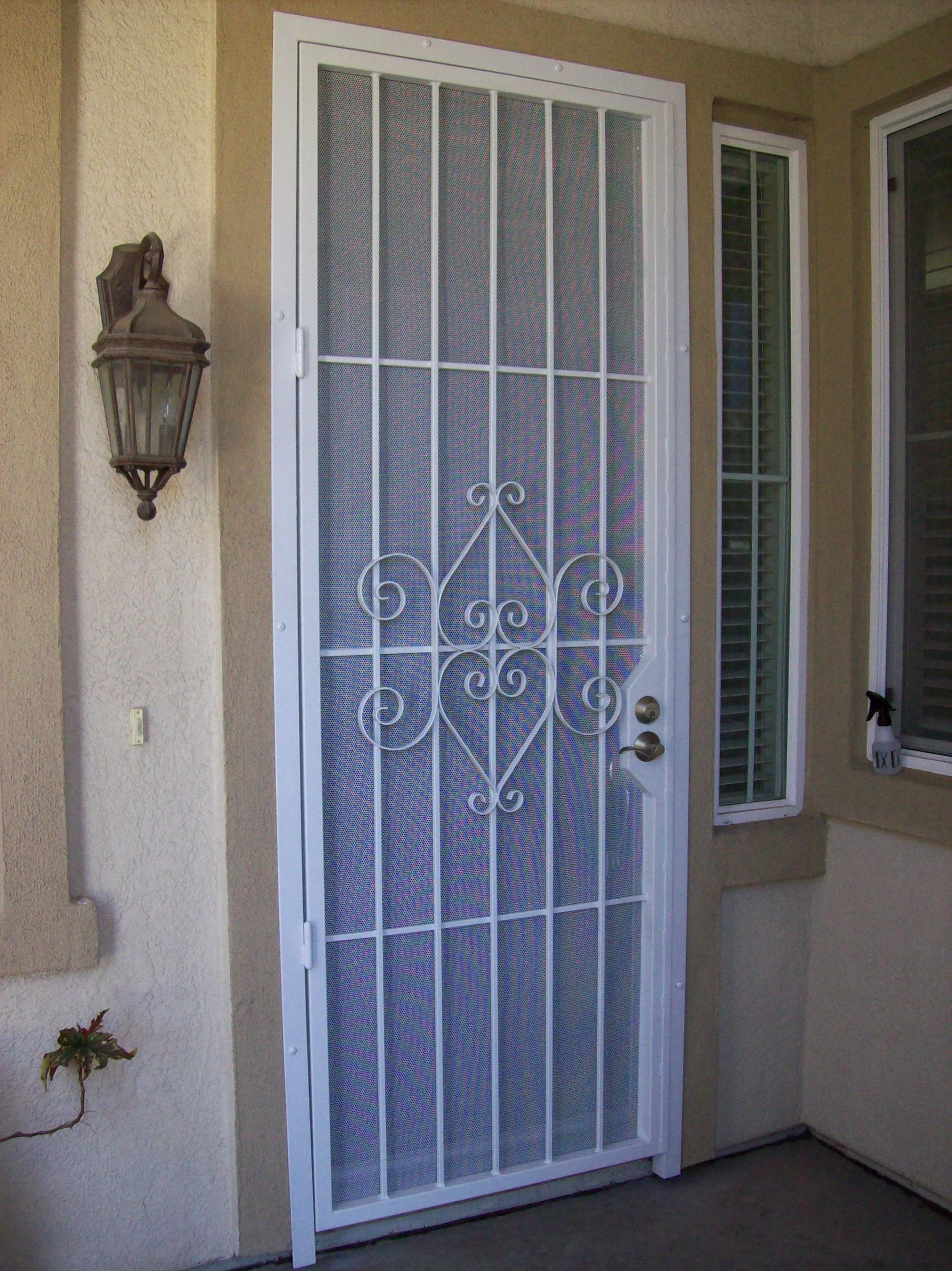New items for Front door security