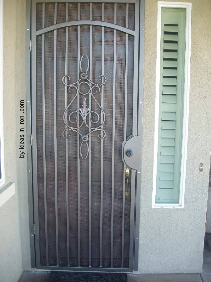 Security screen doors security screen door french doors for Screen doors for french doors