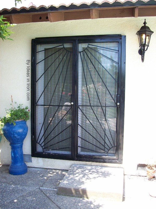Door security sliding door security for Sliding security doors