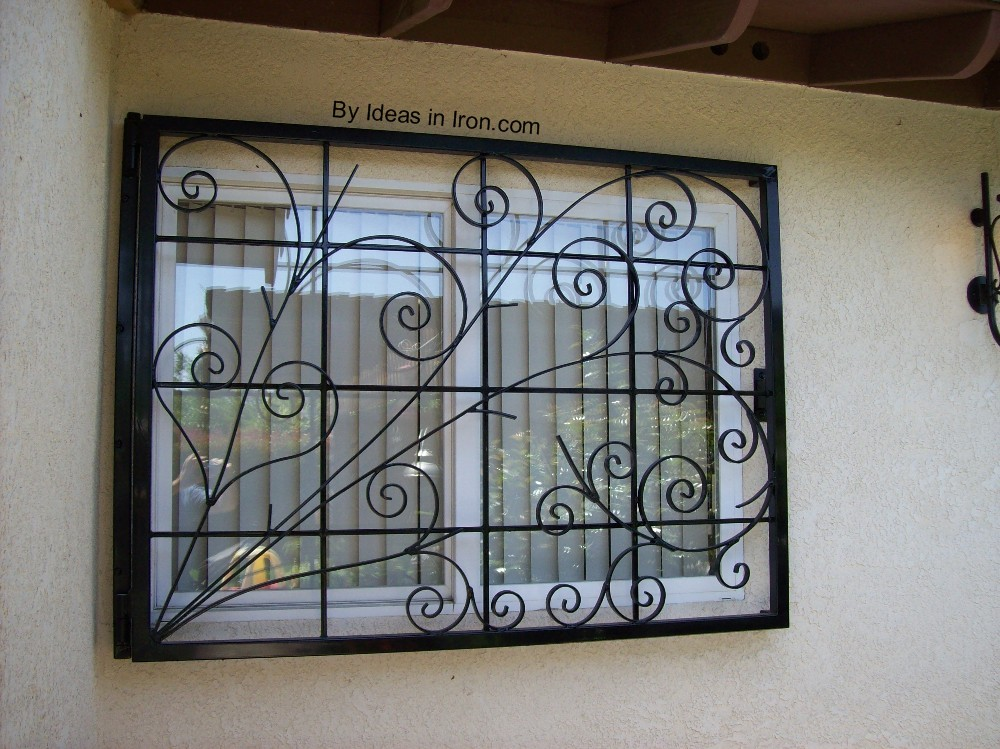 Window guards medallion security 2015 home design ideas for Window protector designs